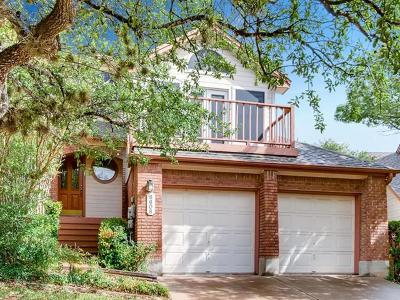 Travis County Single Family Home Pending - Taking Backups: 6608 Mesa Hollow Dr