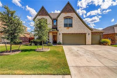 Leander Single Family Home For Sale: 2340 Maxwell Dr