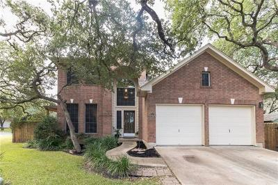 Hays County, Travis County, Williamson County Single Family Home Pending - Taking Backups: 8817 La Siesta Bnd