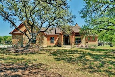 Liberty Hill Single Family Home Pending - Taking Backups: 500 Golden Eagle Way