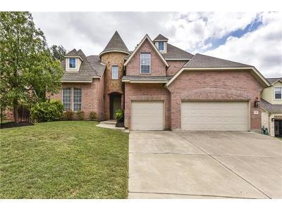Cedar Park Single Family Home For Sale: 2310 Dervingham Dr