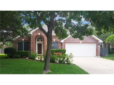 Travis County, Williamson County Single Family Home Pending - Taking Backups: 12600 Duckcreek Ct