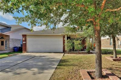 Leander Single Family Home Pending - Taking Backups: 910 Aiken Dr