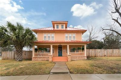 Taylor Single Family Home For Sale: 318 W 5th St