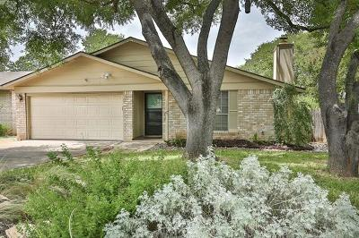 Hays County, Travis County, Williamson County Single Family Home Pending - Taking Backups: 6600 Woodhue Dr