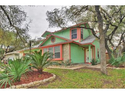 Travis County, Williamson County Single Family Home For Sale: 7103 Tesoro Trl