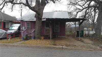 Austin Single Family Home For Sale: 1509 E 14th St