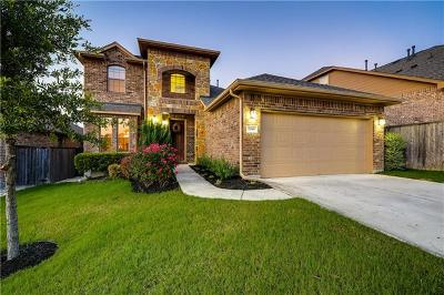 Leander Single Family Home For Sale: 2816 Granite Hill Cv