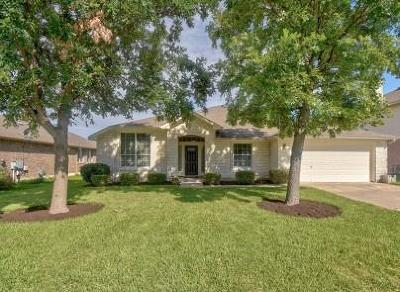 Pflugerville Single Family Home Pending - Taking Backups: 18804 Alnwick Castle Dr