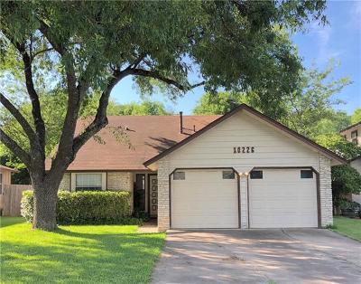 Travis County Single Family Home Pending - Taking Backups: 10226 W Rutland Vlg