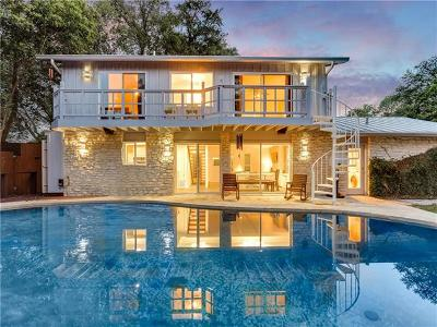 Austin Single Family Home For Sale: 3400 Lakeside Dr