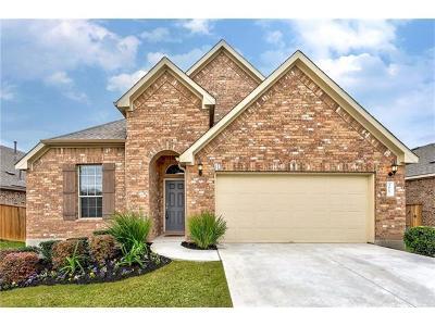 Travis County, Williamson County Single Family Home For Sale: 3617 Esperanza Dr