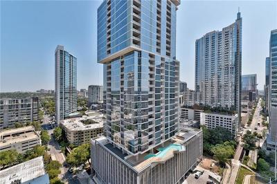 Austin Condo/Townhouse For Sale: 222 West Ave #1913
