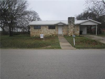 Round Rock Single Family Home For Sale: 401 Brentwood St