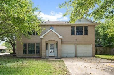 Pflugerville Single Family Home For Sale: 801 Setting Sun Ct