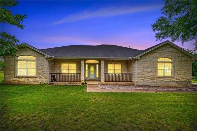 Liberty Hill Single Family Home For Sale: 401 Mustang Mesa