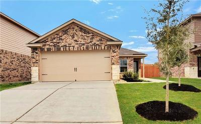 Manor Single Family Home For Sale: 13408 William McKinley Way