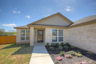 Lago Vista Single Family Home For Sale: 21102 Blackfoot Cv