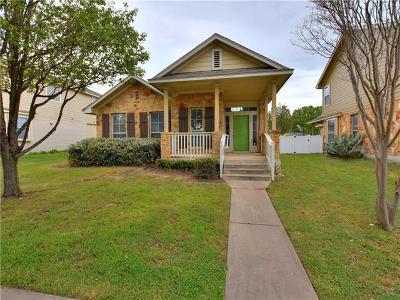 Cedar Park Single Family Home Pending - Taking Backups: 807 Bull Creek Pkwy