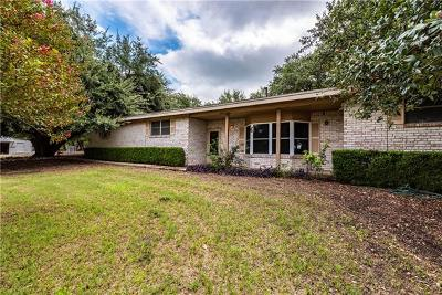 Williamson County Single Family Home For Sale: 450 County Road 303