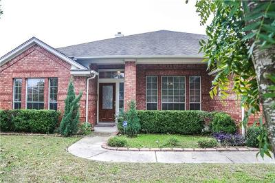 Pflugerville Single Family Home Pending - Taking Backups: 1002 Canyon Maple Rd
