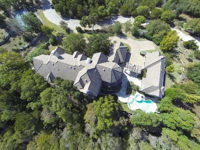 Single Family Home For Sale: 1704 Barton Creek Blvd