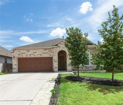 Round Rock Single Family Home For Sale: 8017 Gato Ln
