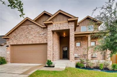 Leander Single Family Home For Sale: 1102 Drake Cv