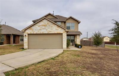 Del Valle Single Family Home Pending - Taking Backups: 12220 Ferrystone Cv
