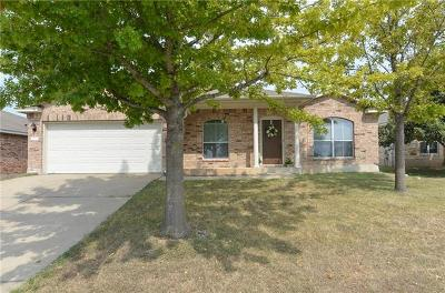 Pflugerville Single Family Home For Sale: 14612 Lipton Ln