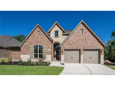 Leander Single Family Home For Sale: 613 Judge Fisk Dr