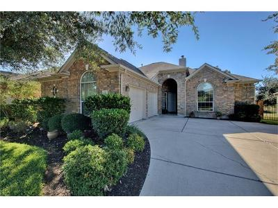 Round Rock Single Family Home For Sale: 734 Bent Wood Pl