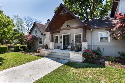 Austin Single Family Home For Sale: 2501 Tower Dr