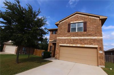 Pflugerville Single Family Home Active Contingent: 13513 Cantarra Dr