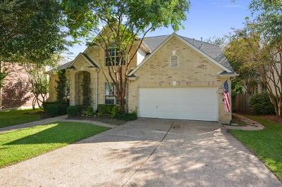 Round Rock Single Family Home For Sale: 2621 NW Henley Dr