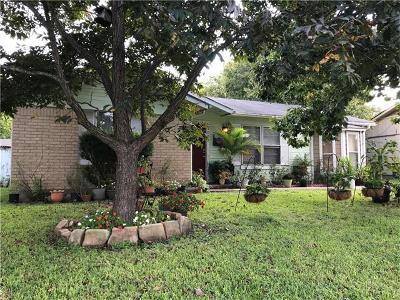 Austin Single Family Home Pending - Taking Backups: 5001 Canella Dr