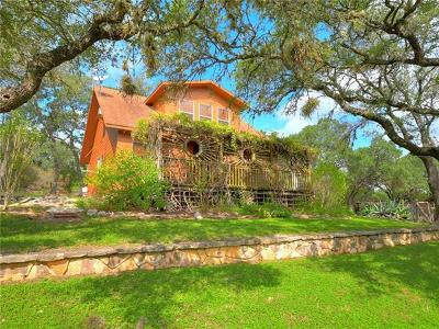 San Marcos Single Family Home Active Contingent: 320 NW Hills Rd