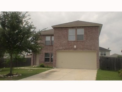 Round Rock Single Family Home For Sale: 1111 Terrier Cv