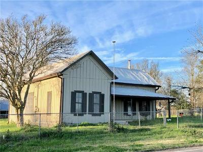 McDade Single Family Home For Sale: 168 S Waco St