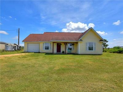 Bastrop Single Family Home For Sale: 271 Lower Red Rock Rd