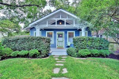 Austin Single Family Home Pending - Taking Backups: 4536 Duval St