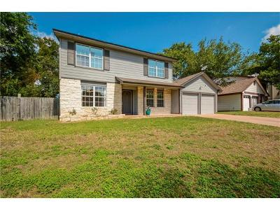 Hays County, Travis County, Williamson County Single Family Home For Sale: 7602 Burly Oak Cir