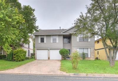 Austin Single Family Home For Sale: 12309 Yarmont Way