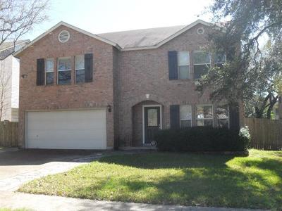 Cedar Park Single Family Home For Sale: 1509 Shady Creek Trl