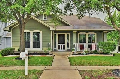 Cedar Park Single Family Home Pending - Taking Backups: 213 Cadillac Cv