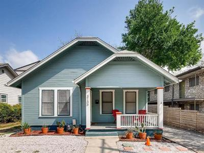 Single Family Home For Sale: 3109 Speedway