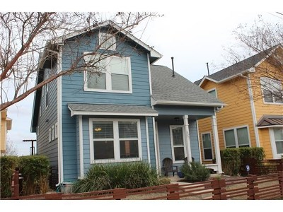 Austin Single Family Home For Sale: 1601 Miriam Ave #101