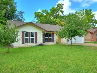 Austin Single Family Home For Sale: 3207 Rogge Ln