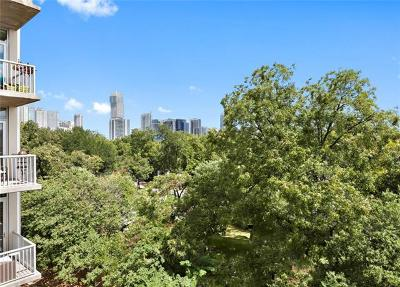 Austin Condo/Townhouse For Sale: 1600 Barton Springs Rd #6401