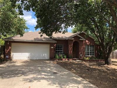 Leander Single Family Home Pending - Taking Backups: 16608 Jadestone Dr